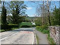 SJ2824 : Approaching the crossroads at Llynclys by Christine Johnstone