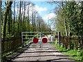 SJ2524 : Entrance to the Tanat Valley Railway by Christine Johnstone