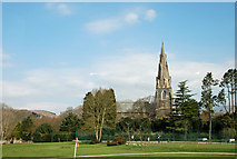 NY3704 : St Mary's Church, Ambleside by Brian Clift