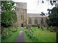 NY9650 : Church of St Mary, Blanchland by Andrew Curtis