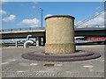 TQ4180 : Silvertown tunnel vent shaft by Stephen Craven