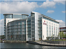 TQ4180 : Ramada Hotel, London Docklands by Stephen Craven