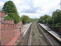 SE3634 : Cross Gates Railway Station - Station Road by Betty Longbottom