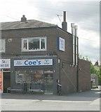 SE3634 : Coe's Fish & Chips - Cross Gates Road by Betty Longbottom
