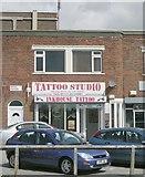 SE3634 : Tattoo Studio - Cross Gates Road by Betty Longbottom