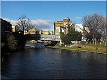 TQ3681 : Ben Jonson Road Bridge E1, E3 & E14 by Peter Thwaite