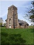 ST2214 : St Leonard's church, Otterford by Derek Harper