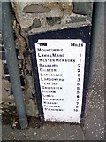 NO4203 : Sign, Kirkton of Largo or Upper Largo by Maigheach-gheal