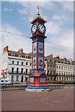 SY6879 : Jubilee Clock on Esplanade by John Firth