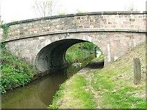 SJ8965 : Bridge 61 takes the A54 over the Macclesfield canal by Raymond Knapman