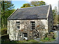 NR3563 : Original building of the Islay Woollen Mill by Andrew Abbott