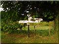 ST9306 : Tarrant Rawston: finger-post by Chris Downer