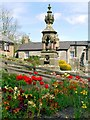 NT9304 : Clennell Memorial Fountain, Harbottle by Andrew Curtis