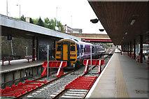 SE1632 : Bradford Interchange station by Dr Neil Clifton
