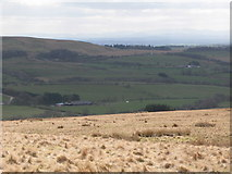 NY5775 : Panorama from the cairn north of Borderrigg (9: SSW) by Mike Quinn
