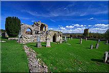 NJ0661 : Kinloss Abbey by Mike Searle