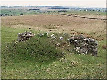 NY5675 : The top of the lime kiln below The Pike by Mike Quinn