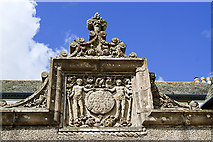 NJ5429 : Leith Hall Armorial Panel by Mike Searle