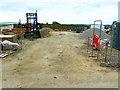 SU1482 : Compound, East Wichel, Wichelstowe, Swindon by Brian Robert Marshall