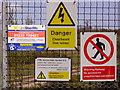 TQ6769 : CTRL signs near Ashenbank Wood by Kenneth Yarham