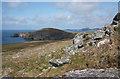 SM6923 : Ramsey Island coastline by Bob Jones