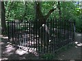 SK3282 : George Yardley - The Wood Collier's Grave, Ecclesall Woods by Neil Theasby