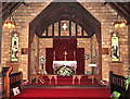 TF5906 : St Peter's church in Stowbridge - the chancel by Evelyn Simak