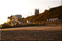 TG2142 : Cromer from the Beach by Christine Matthews