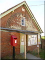ST6905 : Buckland Newton: postbox № DT2 6 and Parish Hall by Chris Downer