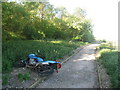 TR0119 : Abandoned Motorbike by Oast House Archive