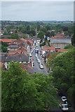 TA0432 : Hallgate from St. Mary's church tower by JBrett