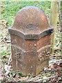 NY5520 : Milepost near Little Strickland by Maigheach-gheal