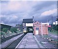 SP5174 : Train waiting at Rugby (Central) Station by David Hillas