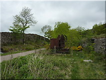 SK2057 : Rusting away on the former Cromford & High Peak Railway by Peter Barr