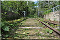 TM3977 : Old Rail on the Concrete Bridge by Ashley Dace