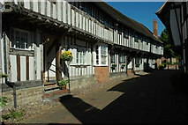 SP0957 : Timber-framed houses, Alcester by Philip Halling