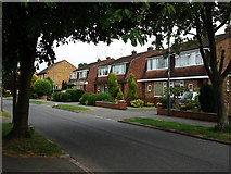 SP2871 : Housing on Fishponds Road by John Brightley