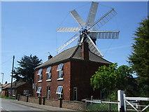 TF1443 : Mill House Tearooms Heckington by Richard Hoare