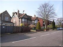 SP3177 : West side of St.Andrew's Road, Earlsdon by John Brightley
