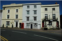 SP0957 : Georgian houses in Alcester by Philip Halling