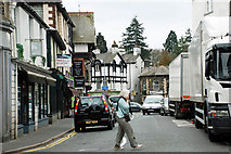 SD4097 : Ash Street, Bowness on Windermere by Brian Clift