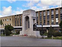 SD7109 : Bolton War Memorial by David Dixon
