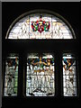 NZ2564 : Arts and Crafts Stained Glass Window, The Laing Art Gallery, New Bridge Street, NE1 by Mike Quinn