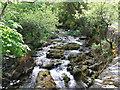 SH5456 : Afon Gwyrfai by David Brown