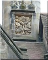 NU0702 : Date stone on Cragside by Humphrey Bolton