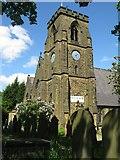 SE0726 : Christ Church, Mount Pellon by Alan Longbottom