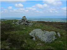 NY5308 : Summit cairn, Wasdale Pike (1852') by John Darch