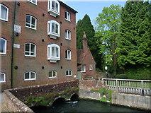 SU4828 : Segrim's Mill (Wharf Mill), Winchester by Tim Heaton