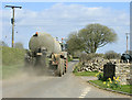 ST6050 : 2010 : Road tanker on Townsend Lane by Maurice Pullin