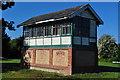 TF9822 : County School Signal Box by Ashley Dace